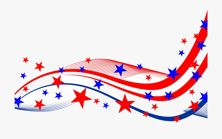 4th Of July Fourth Border Free Best On Transparent.