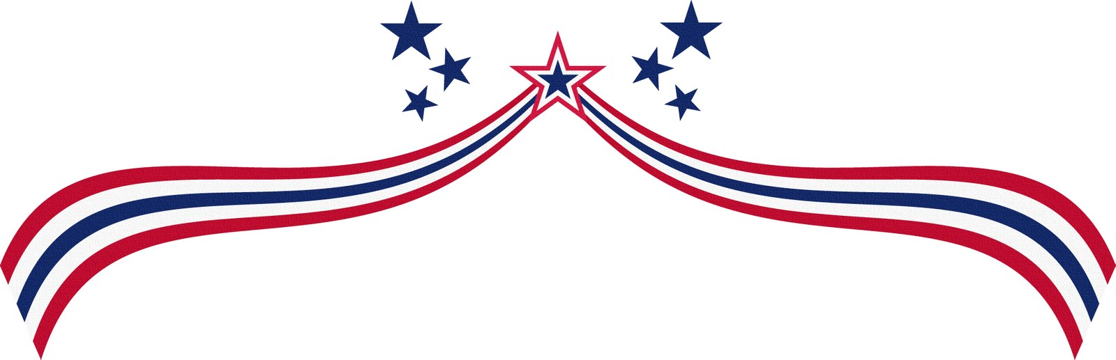 4th Of July Borders Clipart.