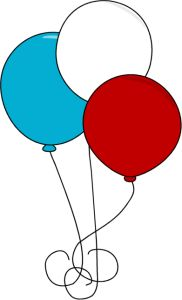 Balloon clipart 4th july, Balloon 4th july Transparent FREE.