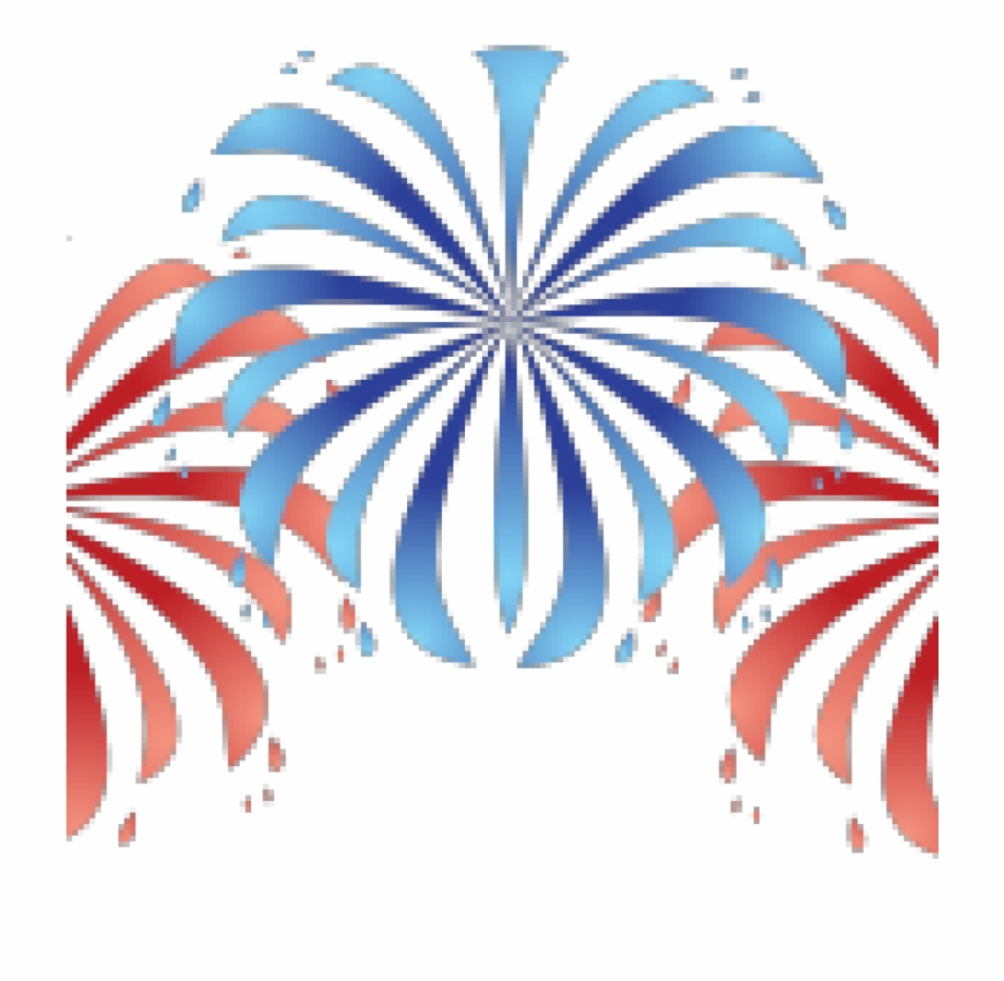 Ballistics Clipart July 4th Fireworks.