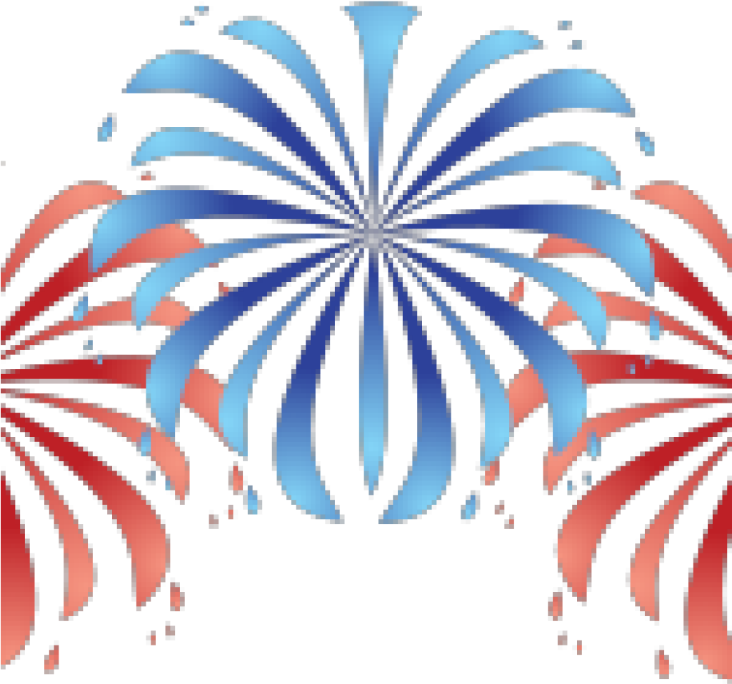 HD Ballistics Clipart July 4th Fireworks.