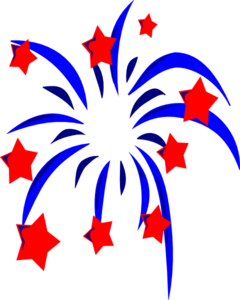4th Of July Clipart Black And White.