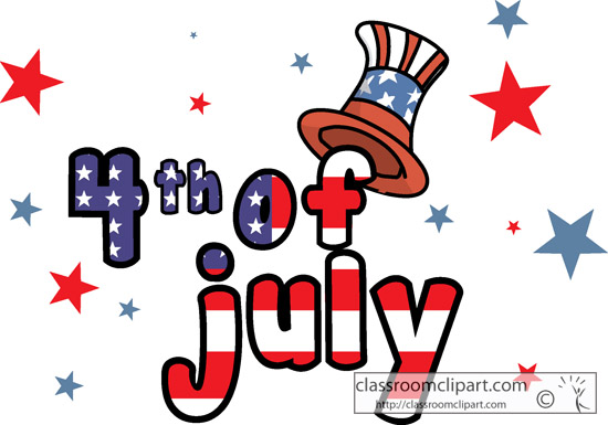 Fourth july free 4th of july clipart independence day graphics 3.