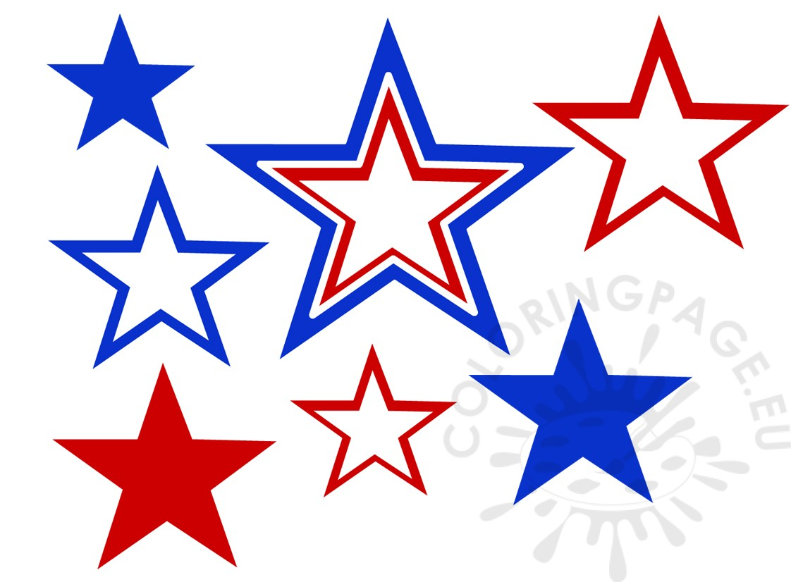 Download High Quality fourth of july clipart stars.