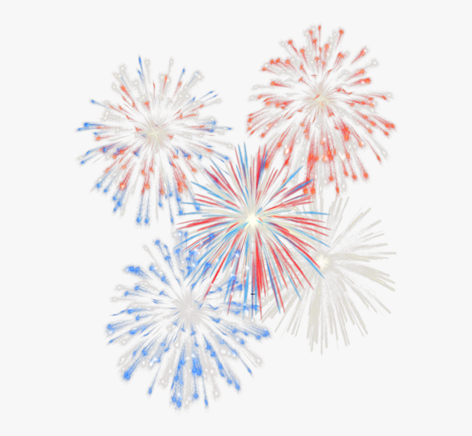 Fireworks Clipart Transparent Background.