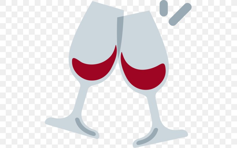 Wine Glass Champagne Emoji Wine Cocktail, PNG, 512x512px.