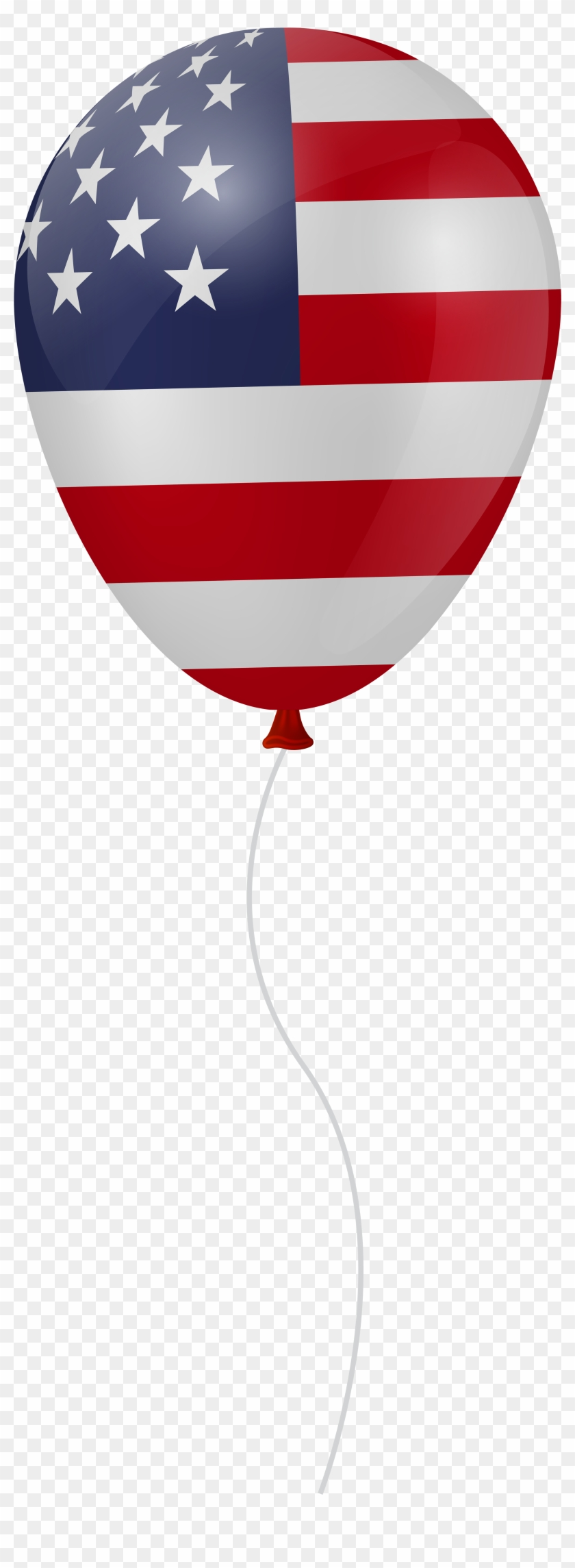 Clipart Balloon 4th July, HD Png Download (#5458435).