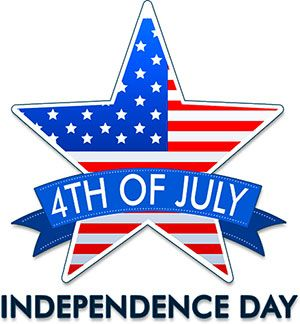 Pin by Monthly Calendar on 4th of July Clipart in 2019.