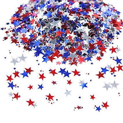 Mosoan Patriotic Confetti.