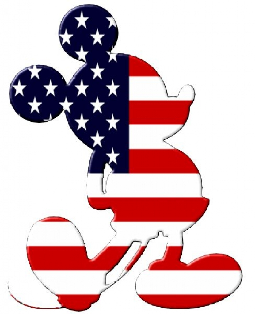 Disney clipart 4th of july clip art on mickey.