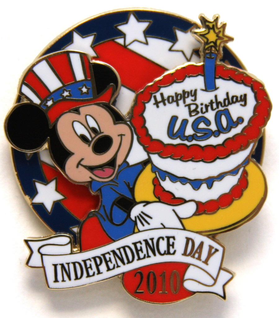 4th Of July Disney Clipart.