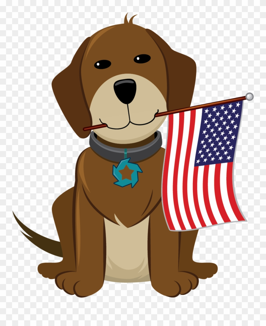 Happy 4th Of July Dog Clipart Download 4th Of July.