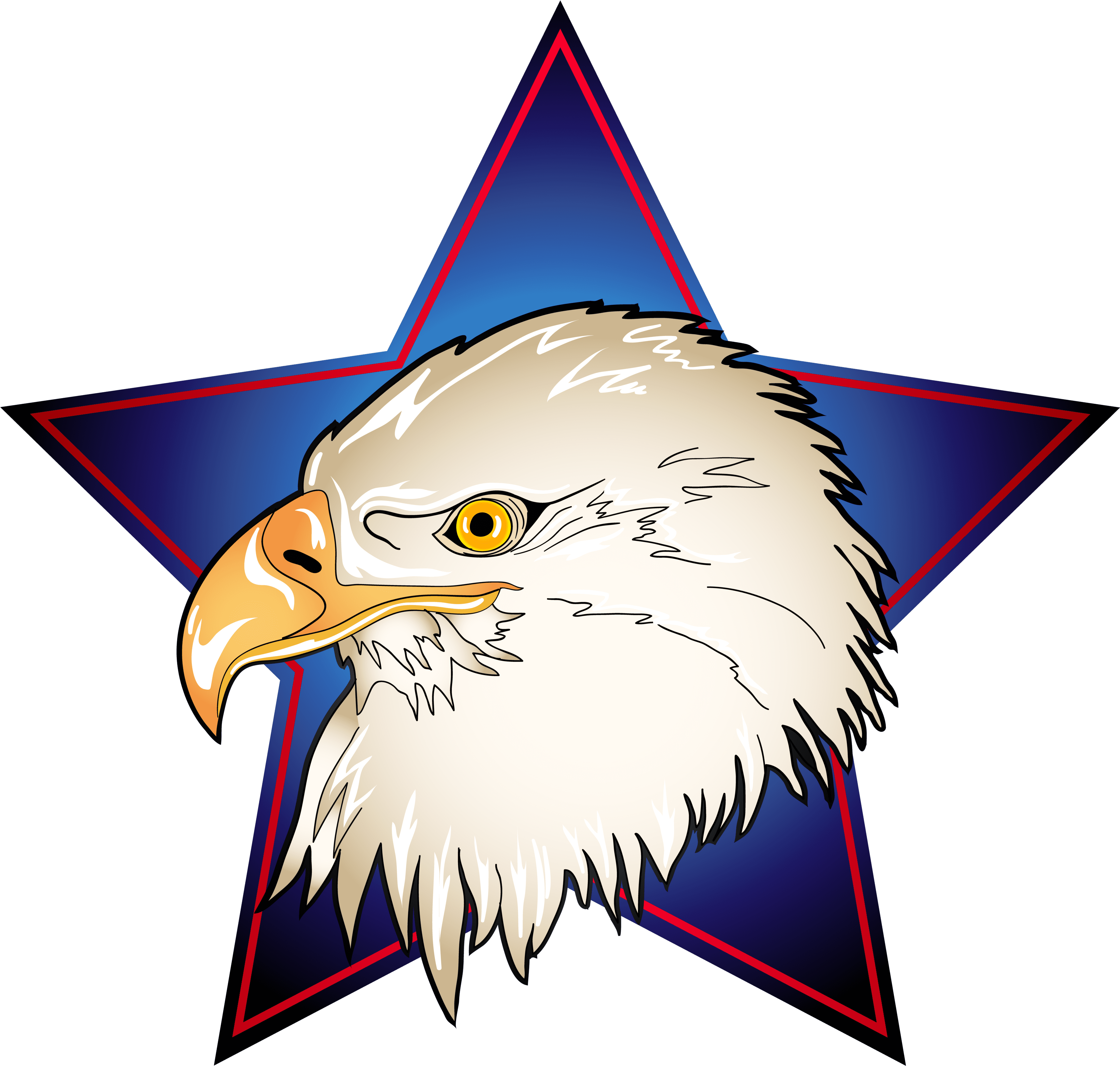 4th Of July Eagle Clipart.