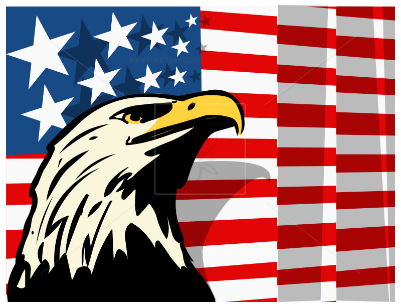 Eagle clipart 4th july, Eagle 4th july Transparent FREE for.