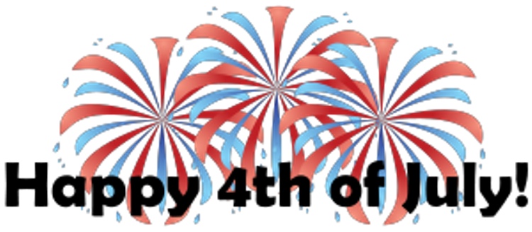 4th Of July Fireworks Clipart 5.