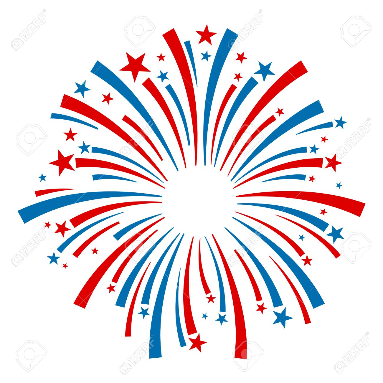 Fireworks Vector Icon.