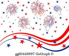 4Th July Fireworks Clip Art.