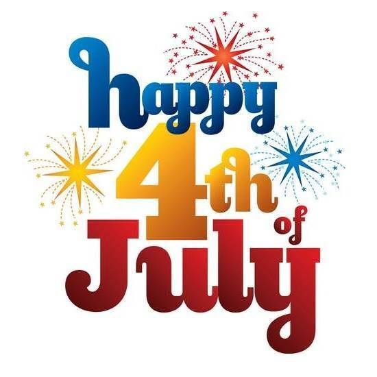 Happy 4th Of July Fireworks Clipart.