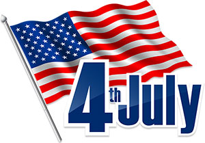 4th Of July Animations and Free Clipart.