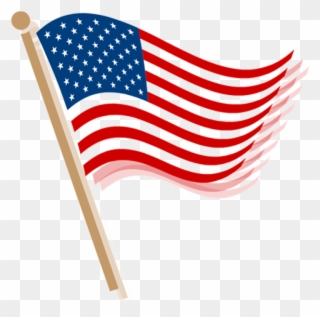 Free PNG 4th Of July Flag Clip Art Download.