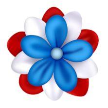 July 4th Sparkler PNG Clip Art Image.
