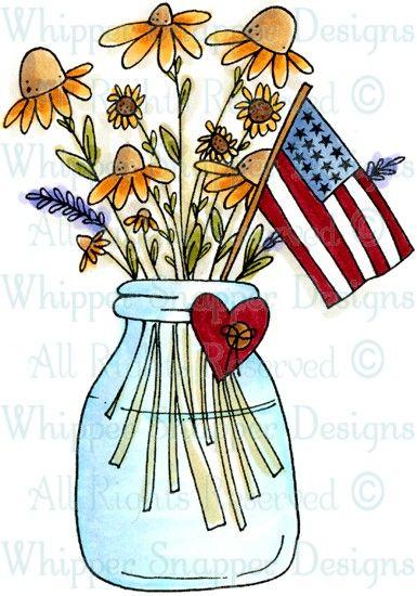 Patriotic Flowers.