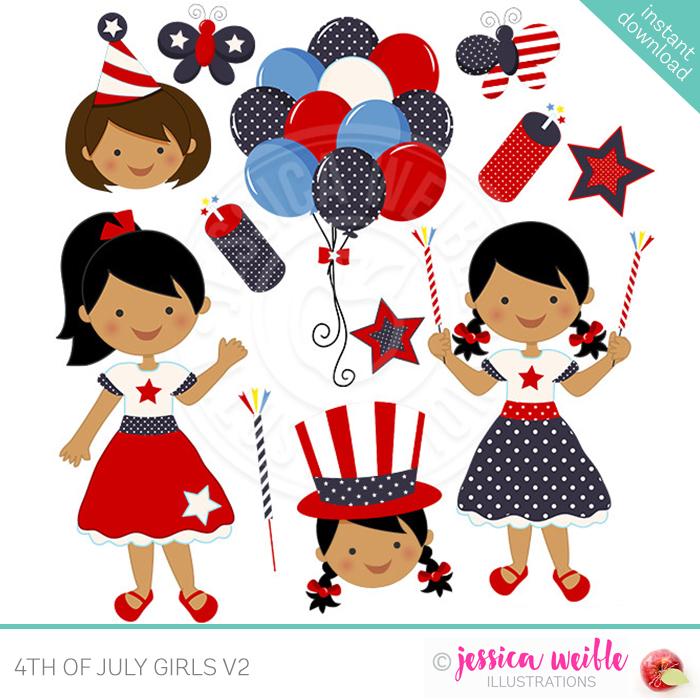 4th of July Girls V2.