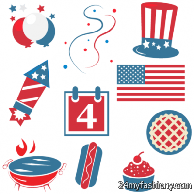 4th Of July BBQ Clipart images looks.