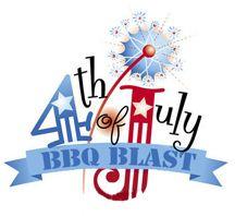 4th of July BBQ Clip Art.