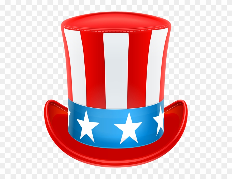 Clipart Hat 4th July.