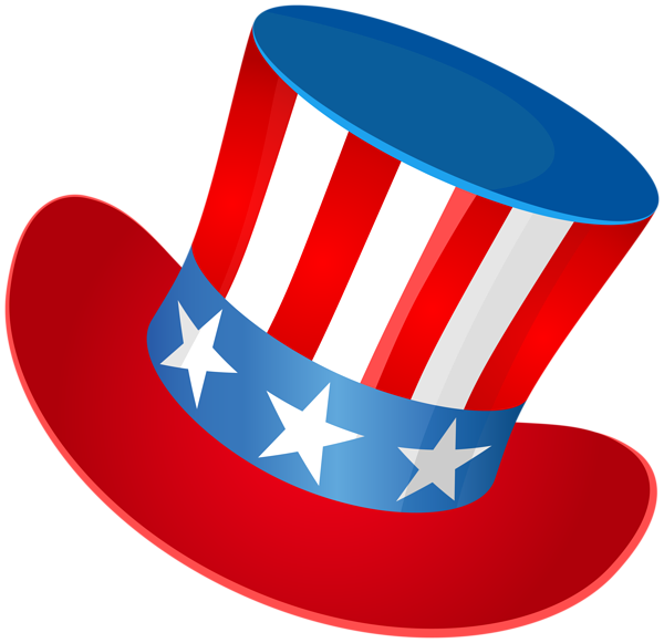 4th Of July Hat Png.