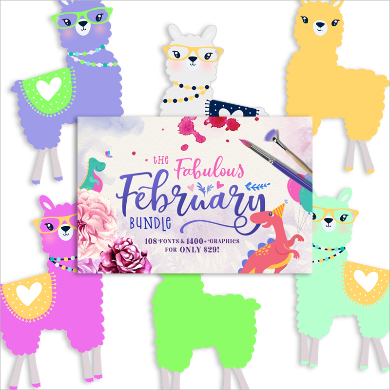 You\'re a Llama fun Freebie Collection!.