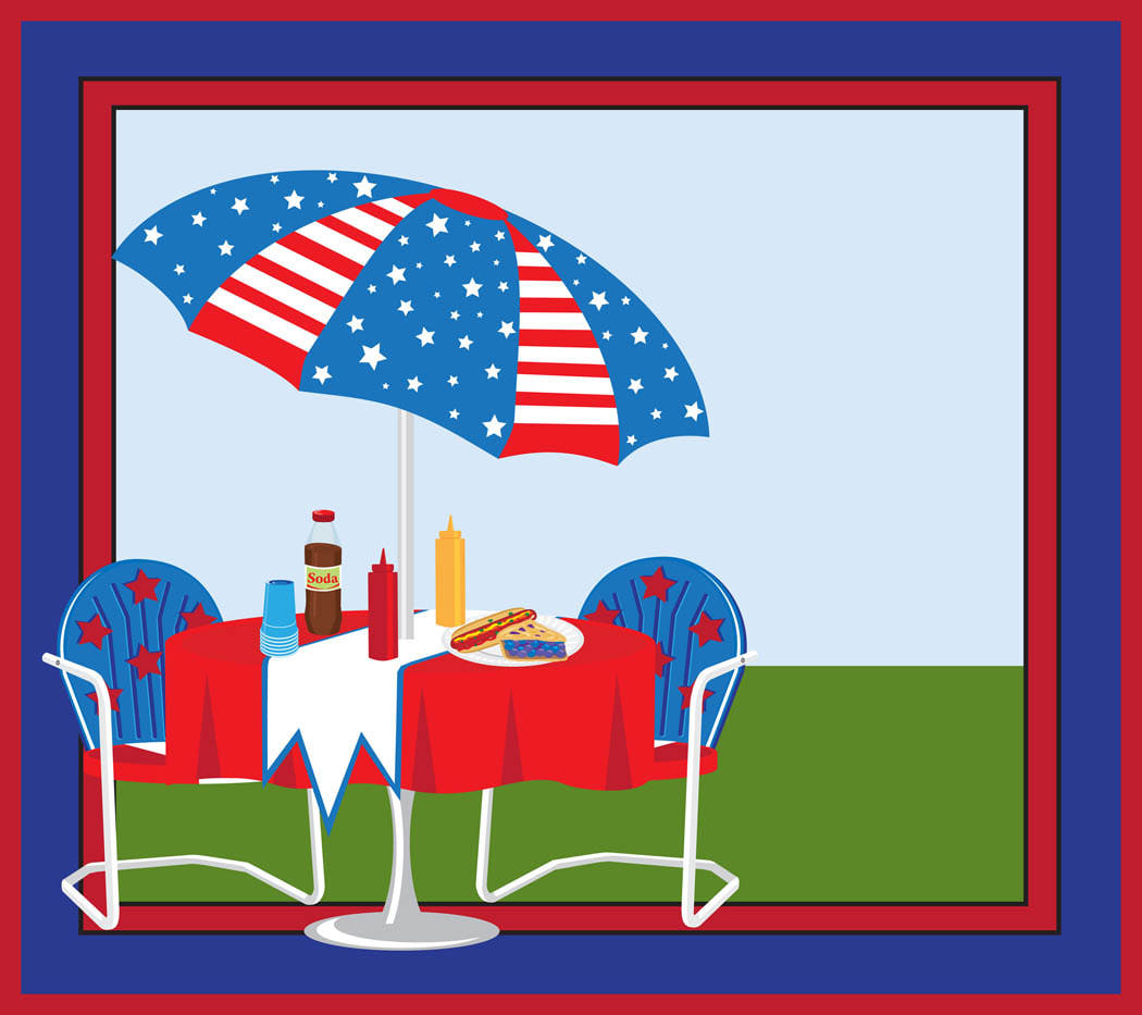 Picnic On 4th Of July.