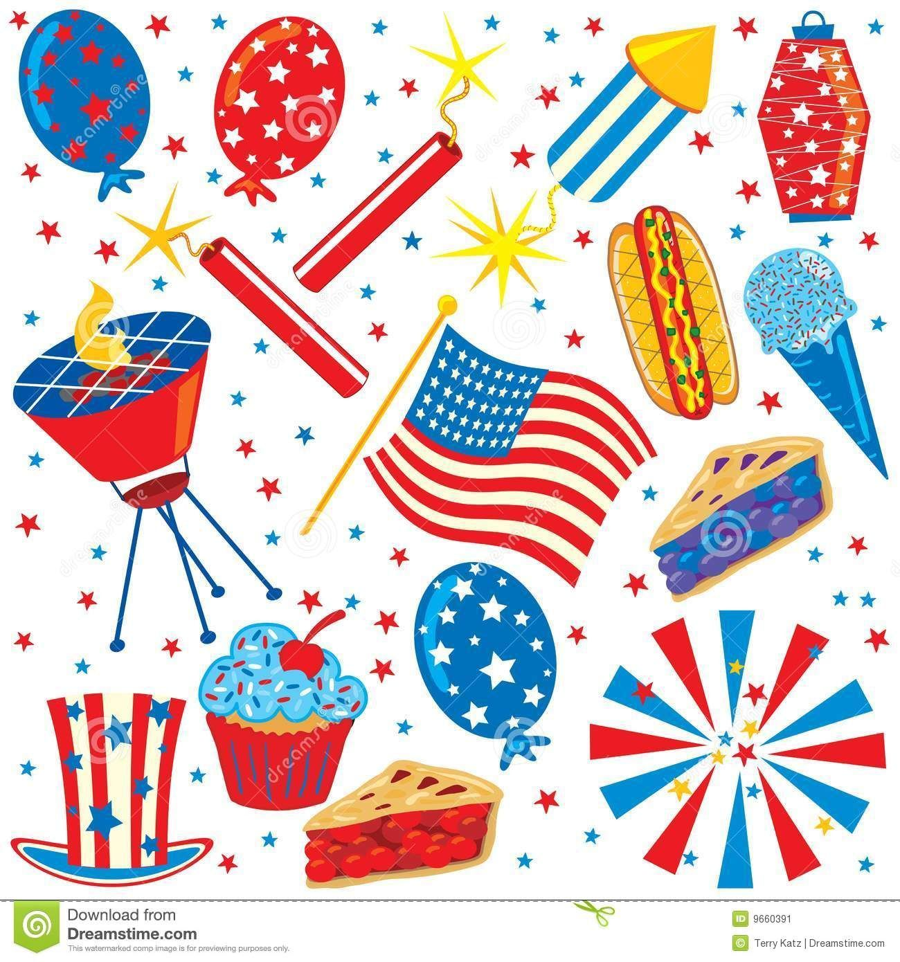 4th of july picnic clipart 6 » Clipart Portal.