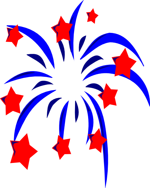 Happy 4th Of July Clipart.