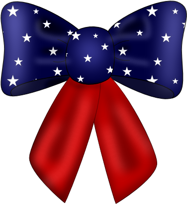 freetoedit #bow #hairbow #ribbons #americanflag #flag.
