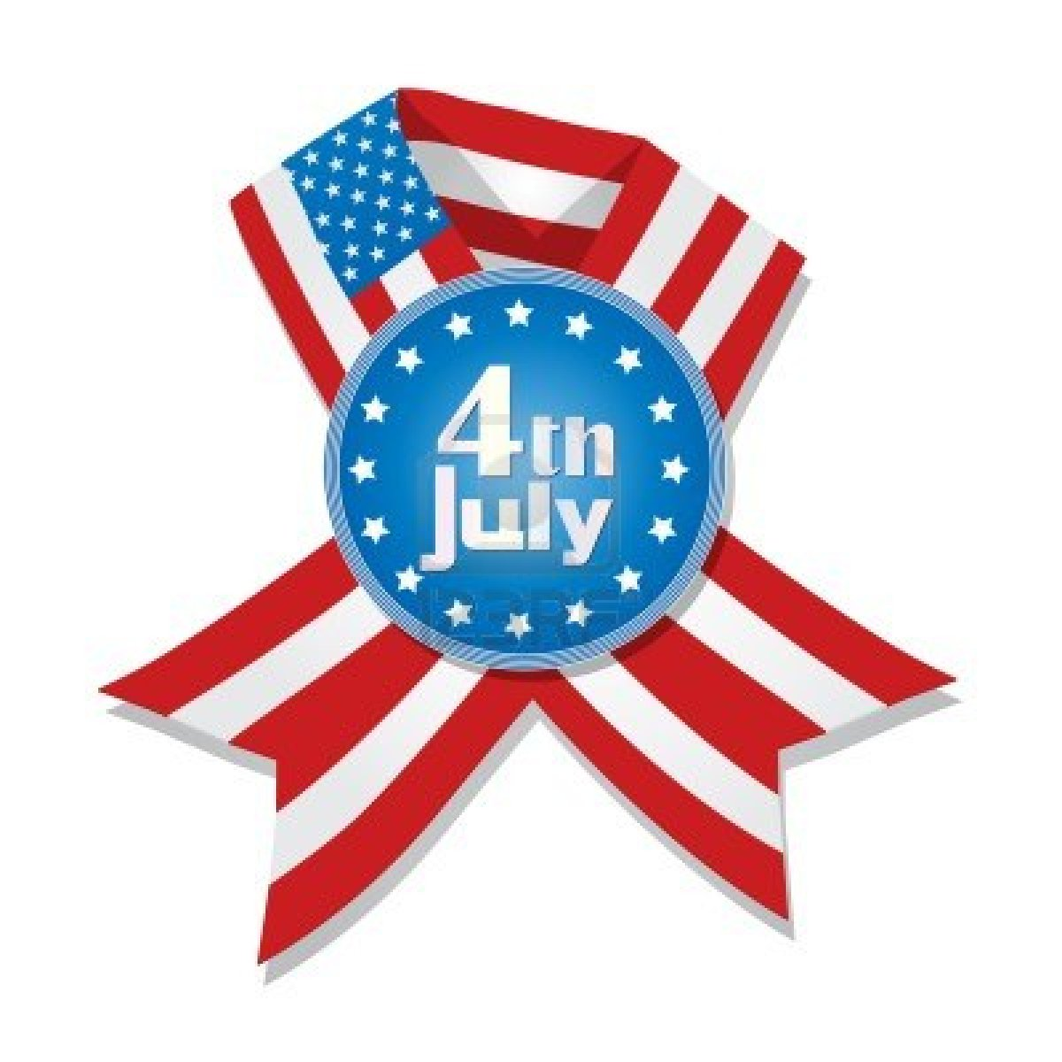 July 4th Eagle Clip Art and Images.