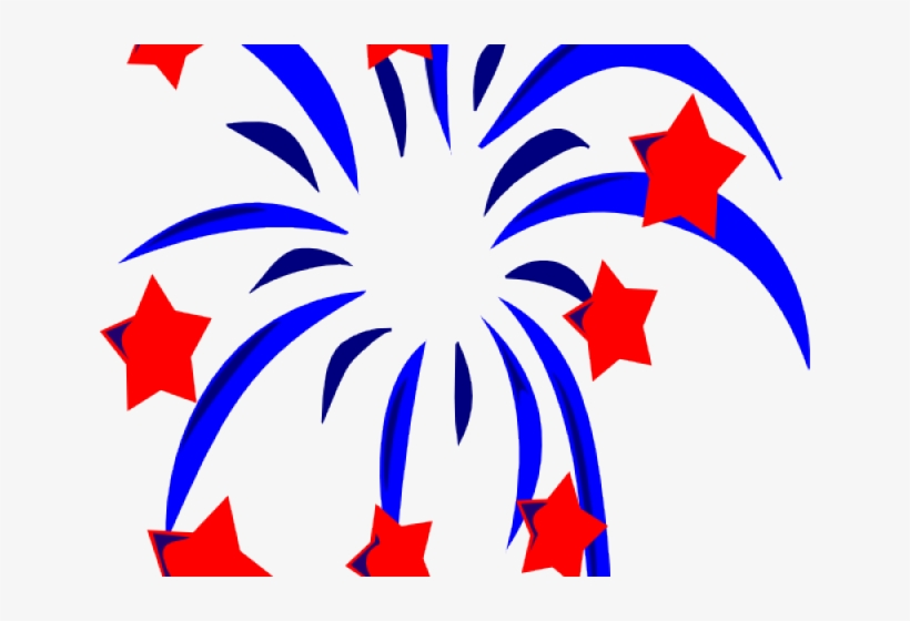 Fireworks Clipart 4th July.