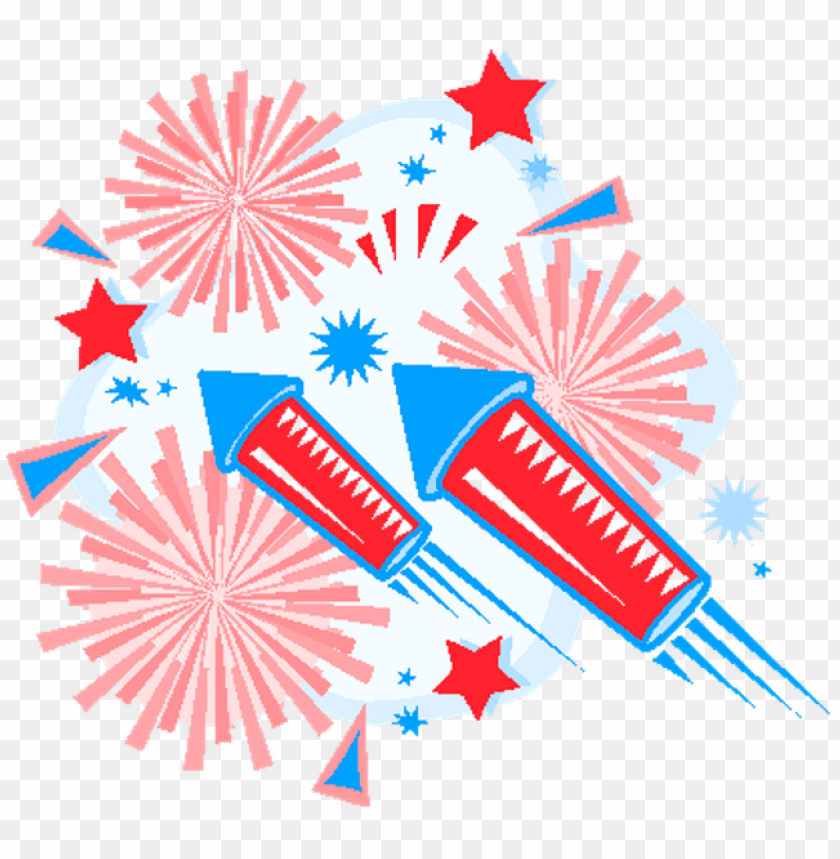 transparent library th of fireworks clipart group.