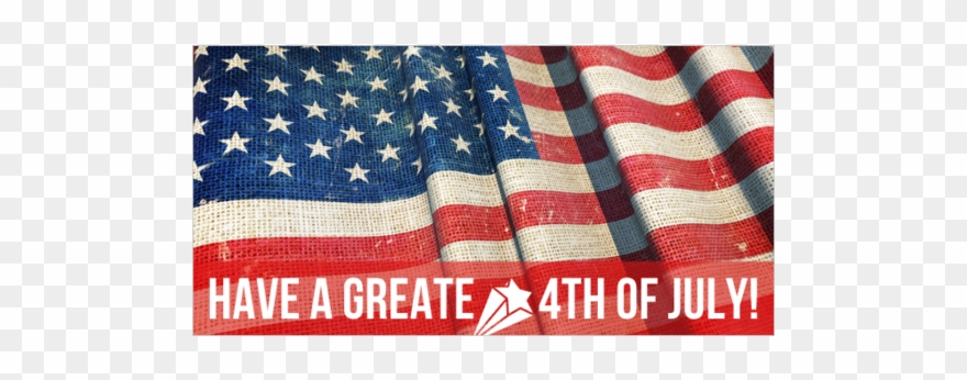 Have A Great Fourth Of July Vinyl Banner With Star.