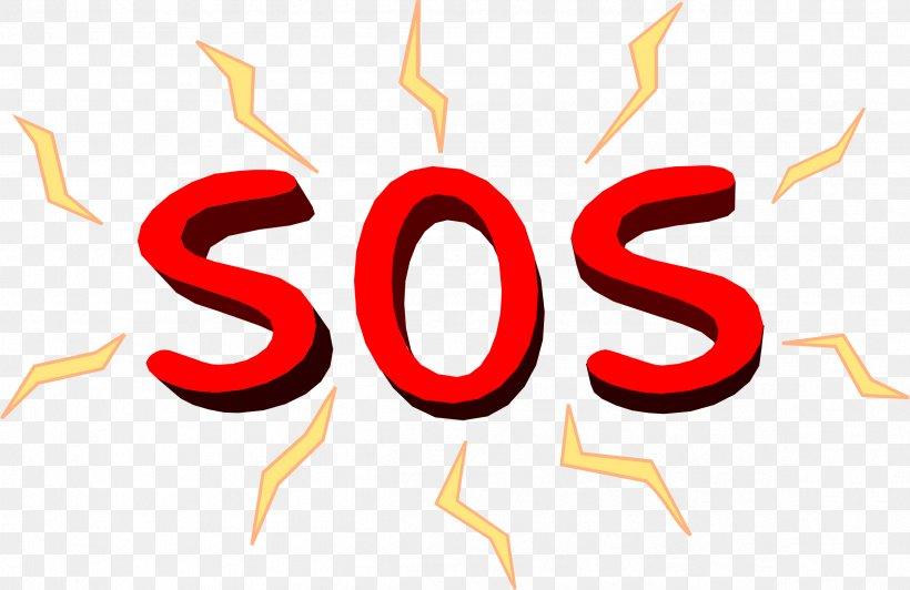 SOS Symbol Distress Signal Clip Art, PNG, 2398x1556px, Sos.