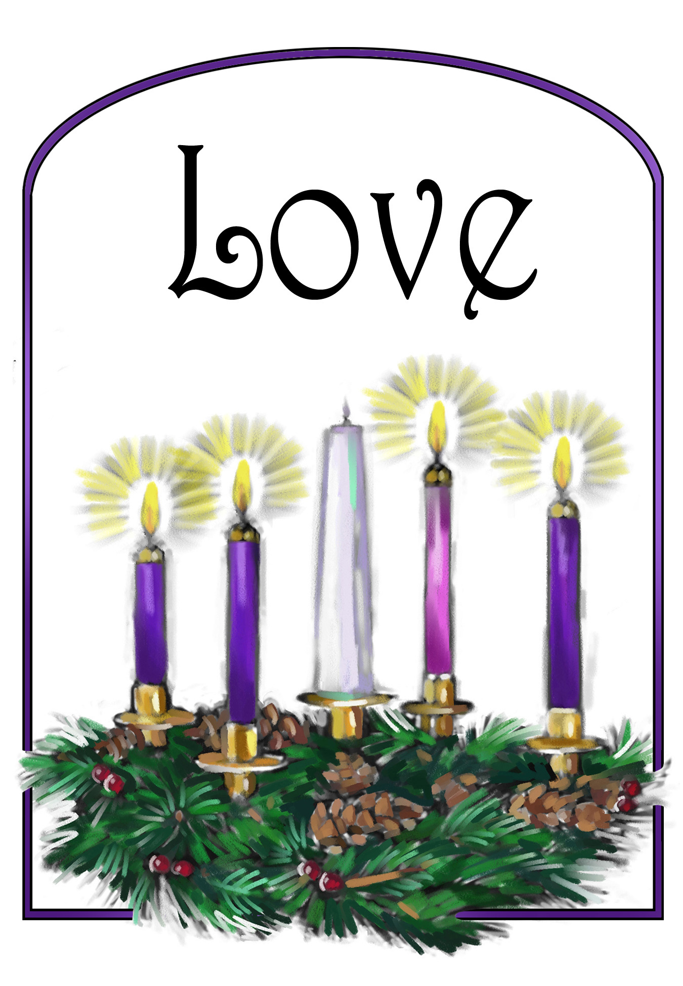Fourth Sunday in Advent.