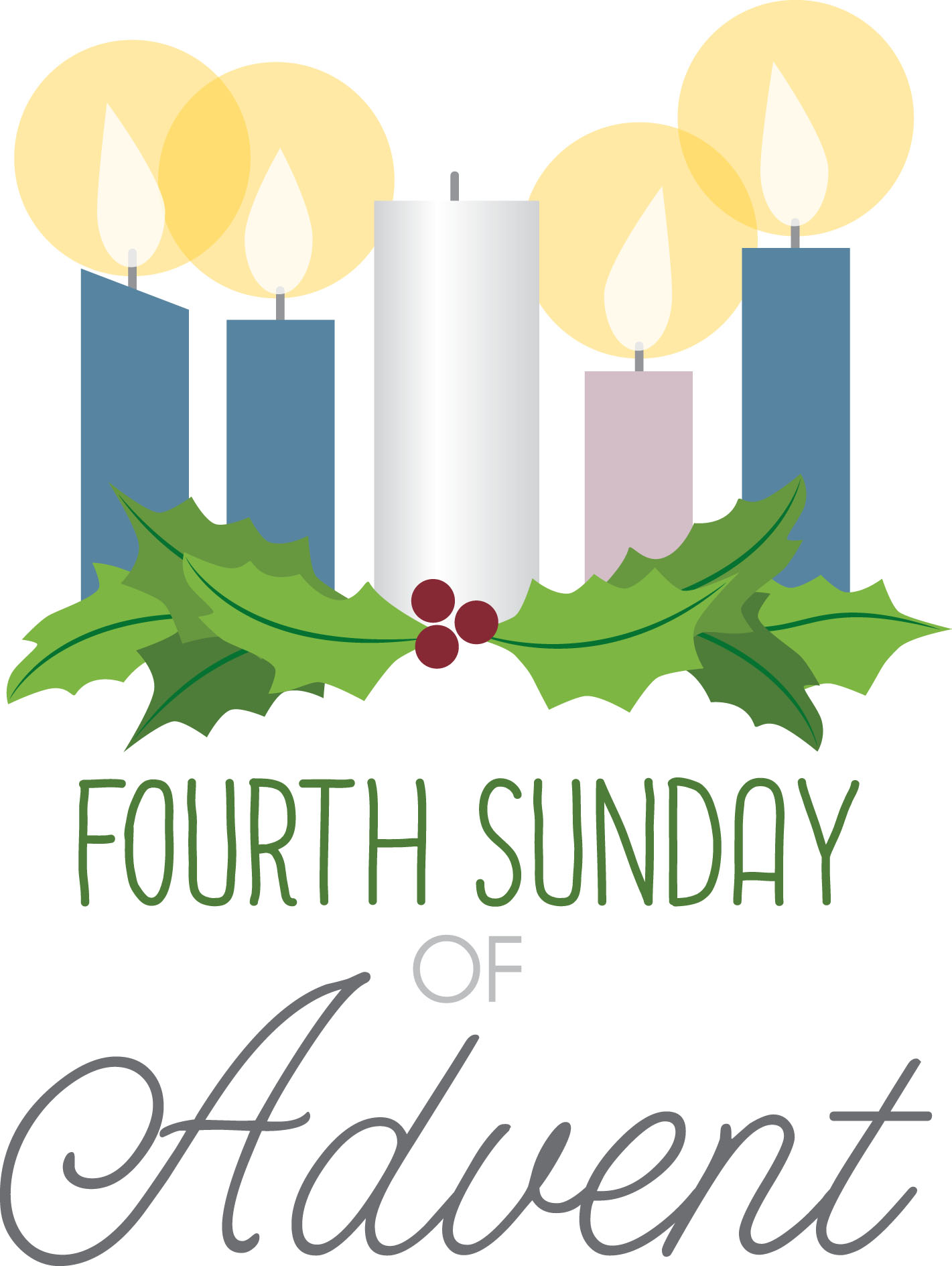 Fourth Sunday of Advent/Christmas Eve Message.