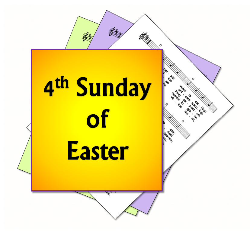LiturgyTools.net: Hymns for the 4th Sunday in Easter, Year C.
