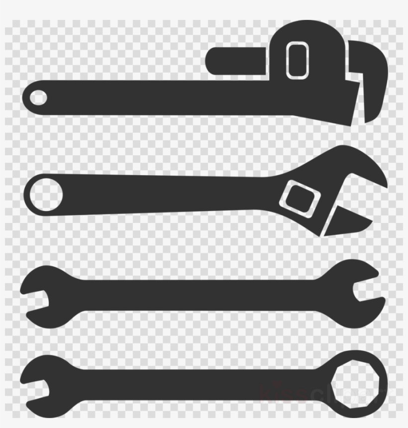 4way wrench clipart Transparent pictures on F.