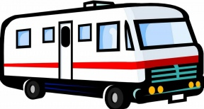 4x4 Car Transfer Unit Clipart.