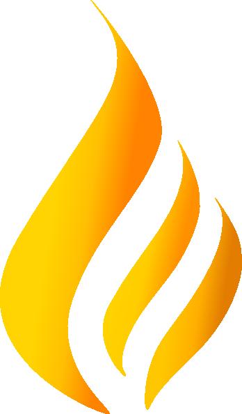 Maron Flame Logo 4 Clip Art at Clker.com.