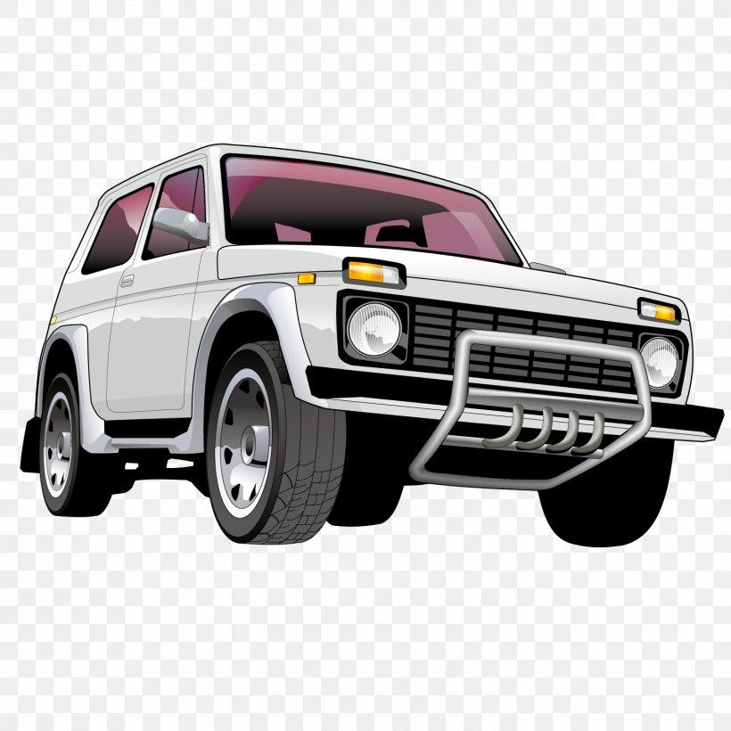 Car LADA 4x4 Euclidean Vector Clip Art, PNG, 1500x1501px.