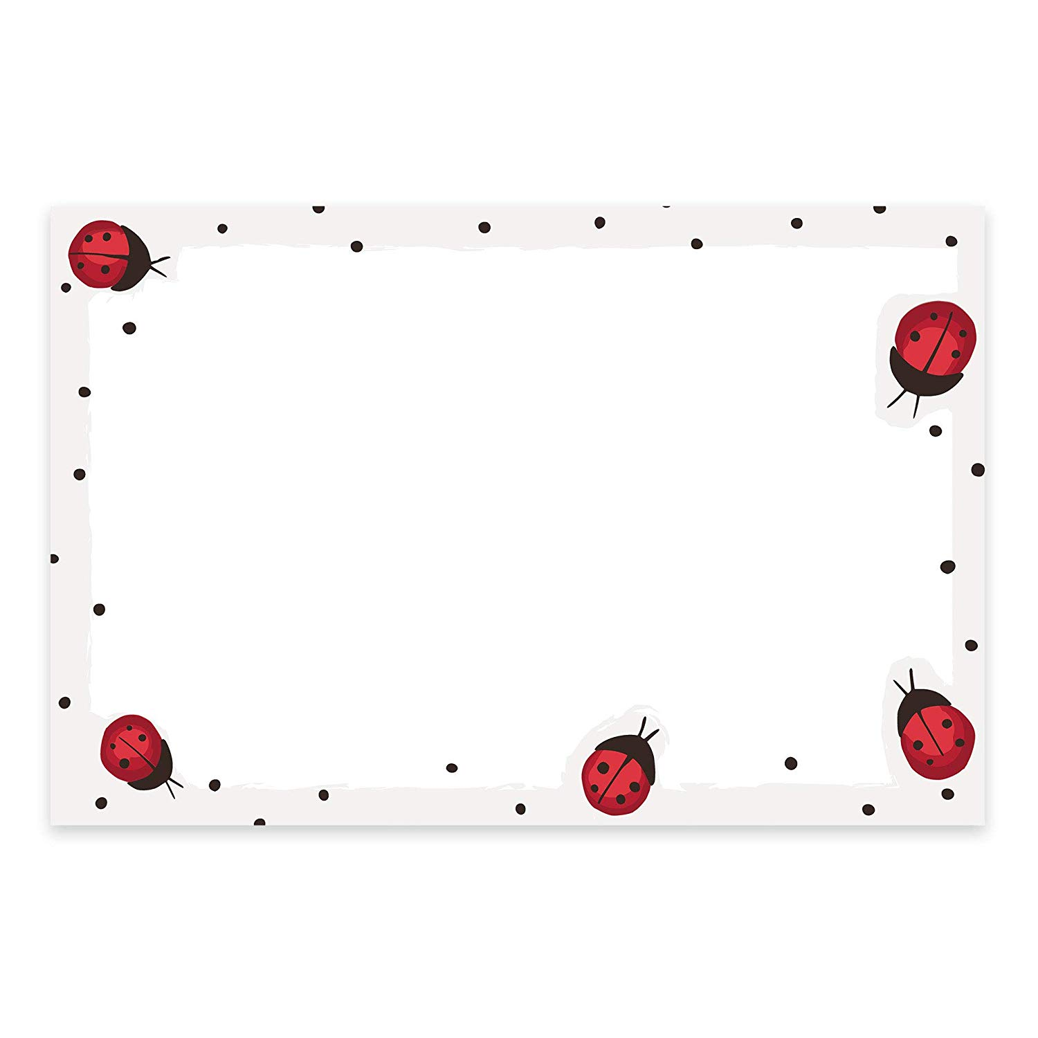 Amazon.com : Ladybug Note Cards, A6, 4 x 6 inches, The Gift.