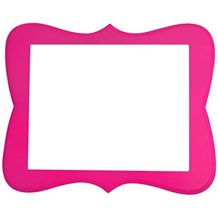 Chase Picture Frames, Hot Pink, 2x3.